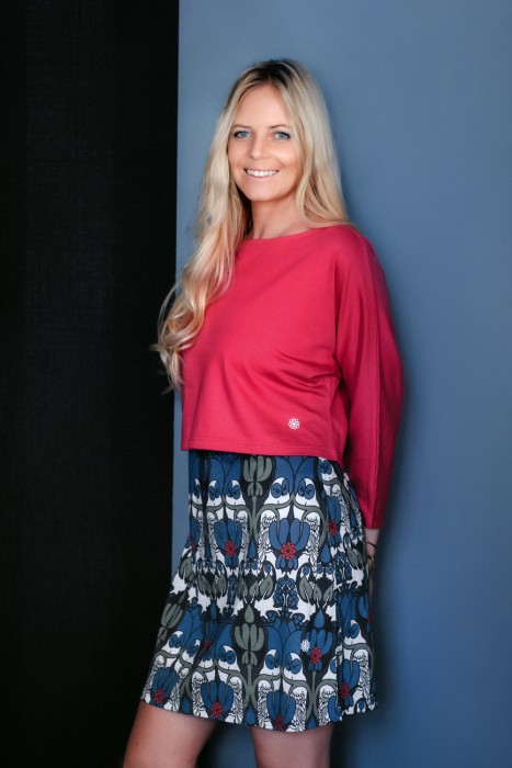 Umstands- und Still-Pullover kurz dünn
