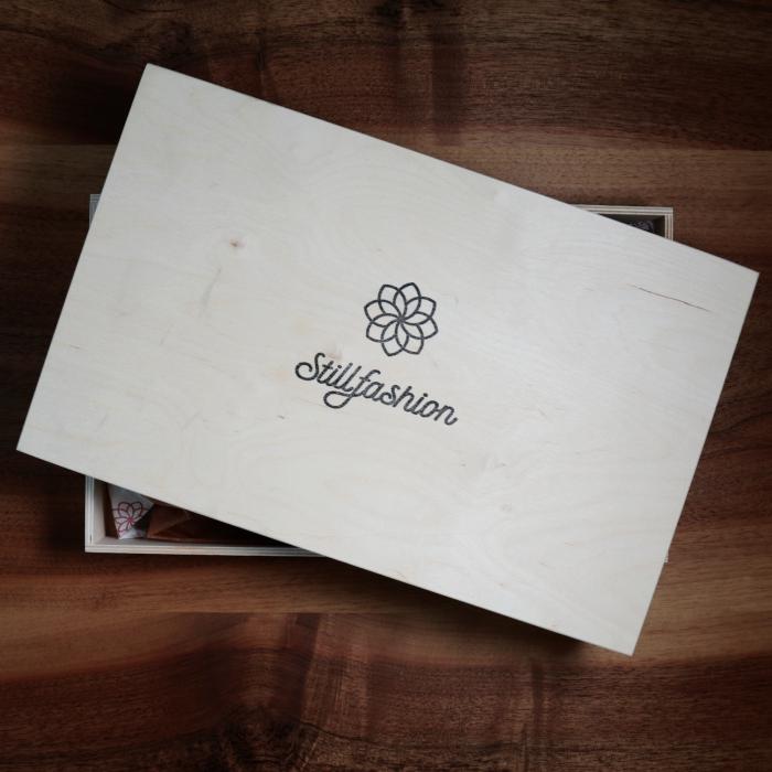 Geschenbox aus Holz